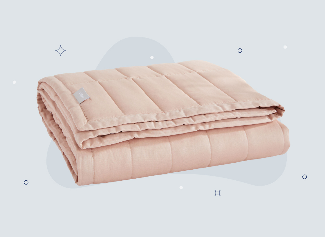 a weighted blanket
