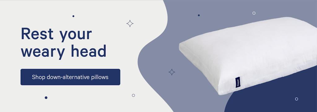 shop down alternative pillows