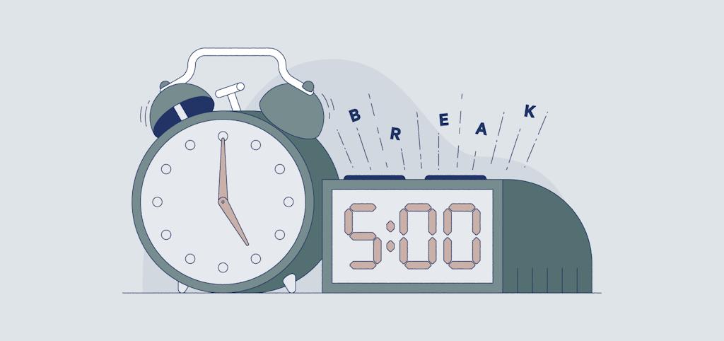 schedule breaks