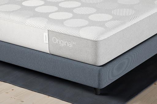 bed with Casper Original mattress