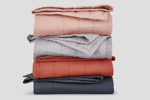 Blankets in different colors