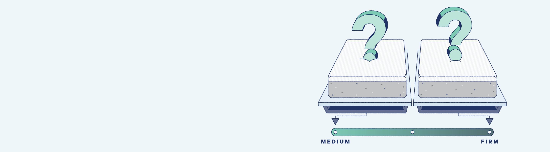 medium vs. firm mattress