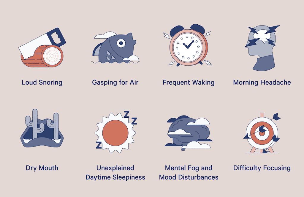 symptoms of sleep apnea