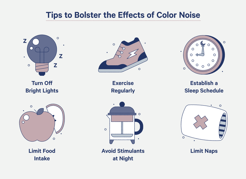 tips for benefiting from color noise