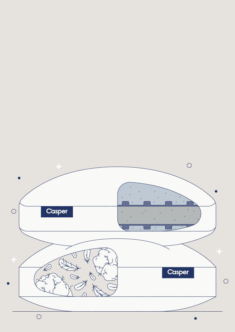 memory foam vs down pillow