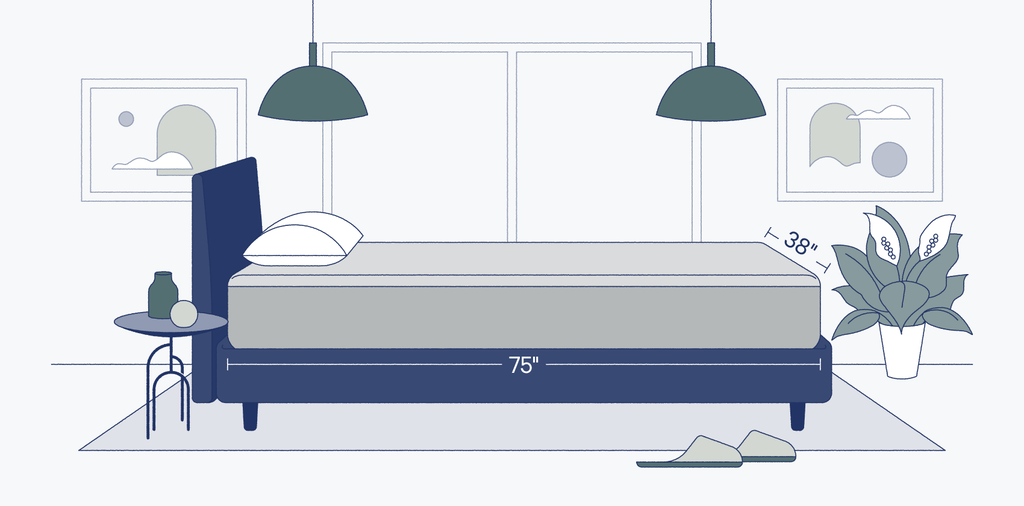 twin bed size