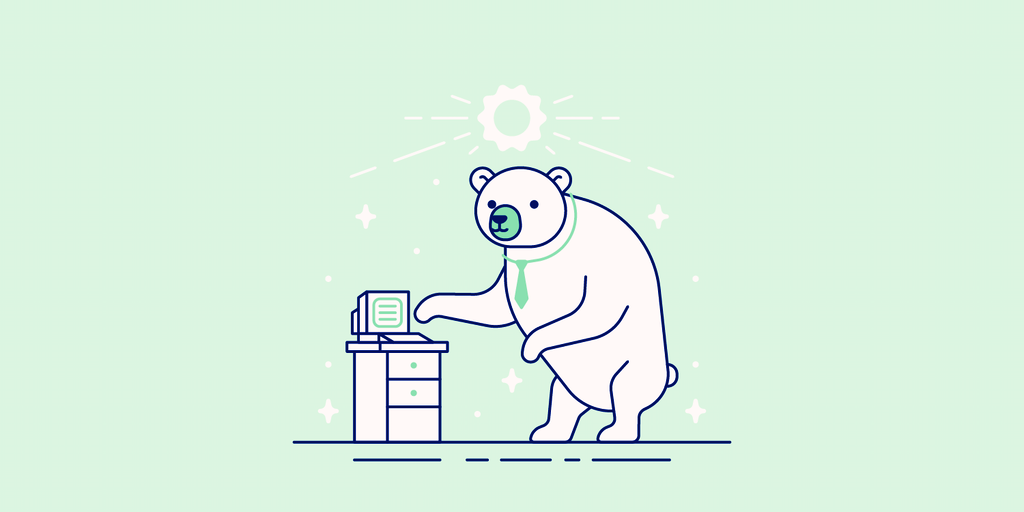 Illustration of a bear.